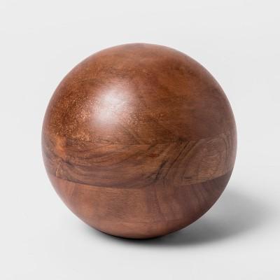 Decorative Ball Figurine - Wood - Project 62™