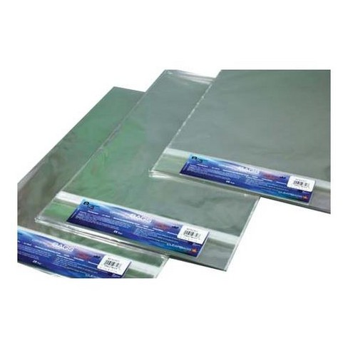 ClearBags 16-7/16x20-1/8  Crystal Clear, Protective Polypropylene Storage Bags, with Flap, 25 Bags - image 1 of 3