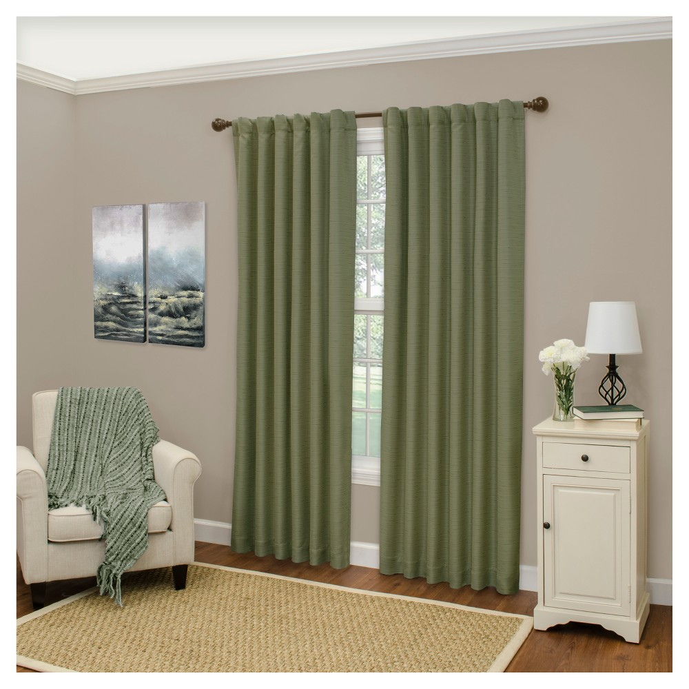 Cromwell Thermaweave Blackout Curtain Panel Green (52