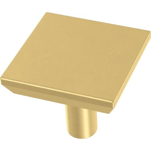 "Franklin Brass P40847K Simple Chamfered 1-1/8"" Square Cabinet Knob - Pack of 10 - image 1 of 2"