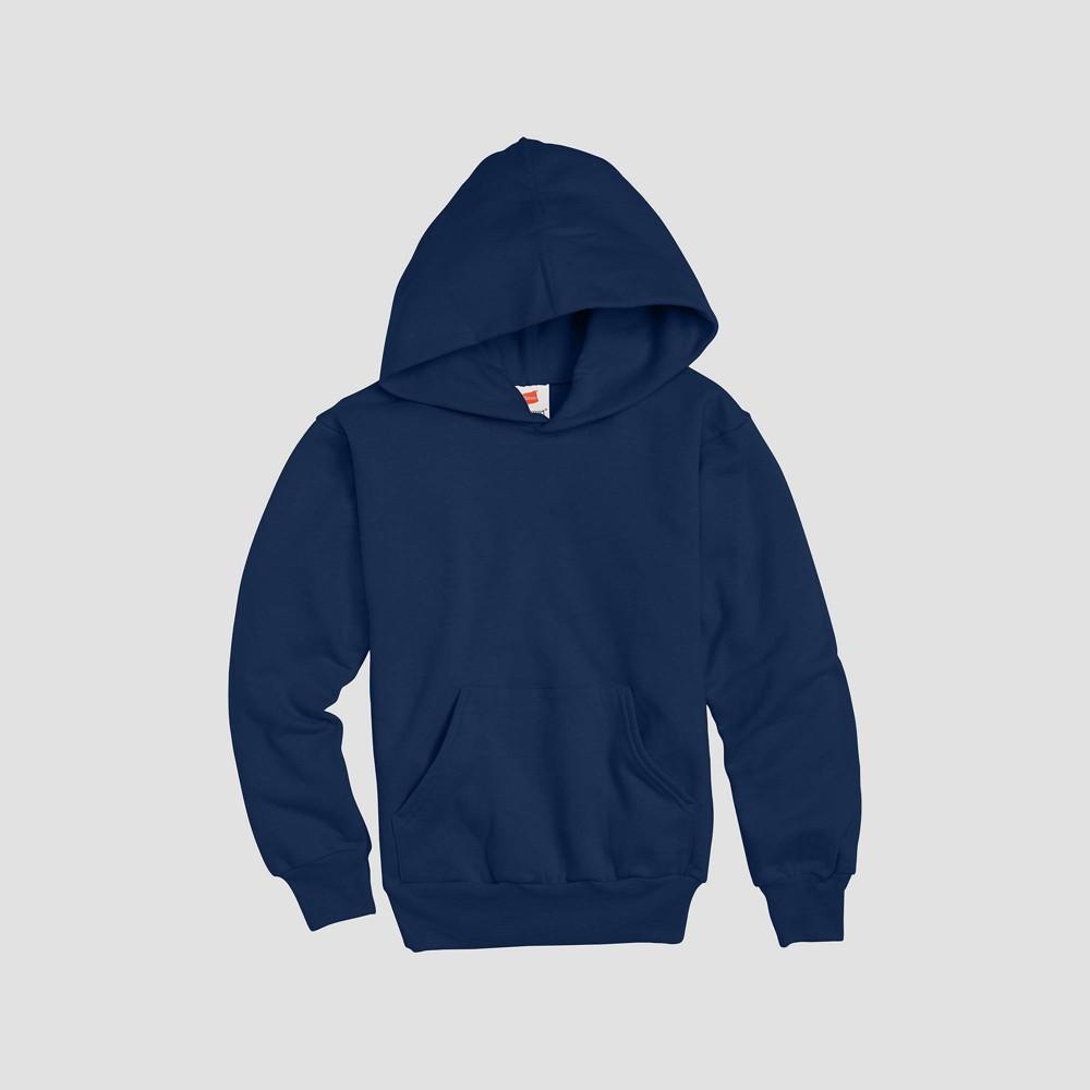 Hanes Kids 39 Comfort Blend Eco Smart Hooded Sweatshirt Navy Xs