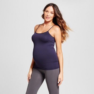 Maternity Seamless Cami - Isabel Maternity™ by Ingrid & Isabel® Navy S/M