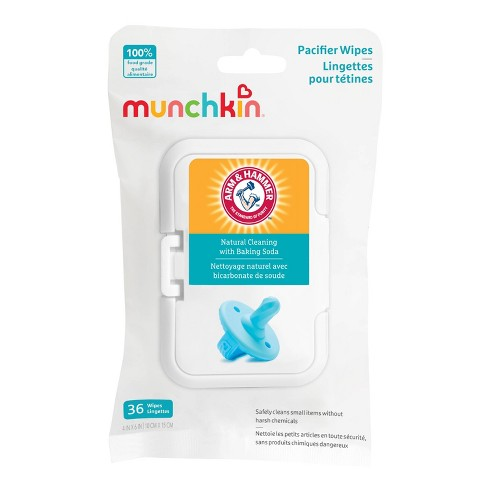 Munchkin Arm & Hammer - 36 Pacifier Wipes - image 1 of 4