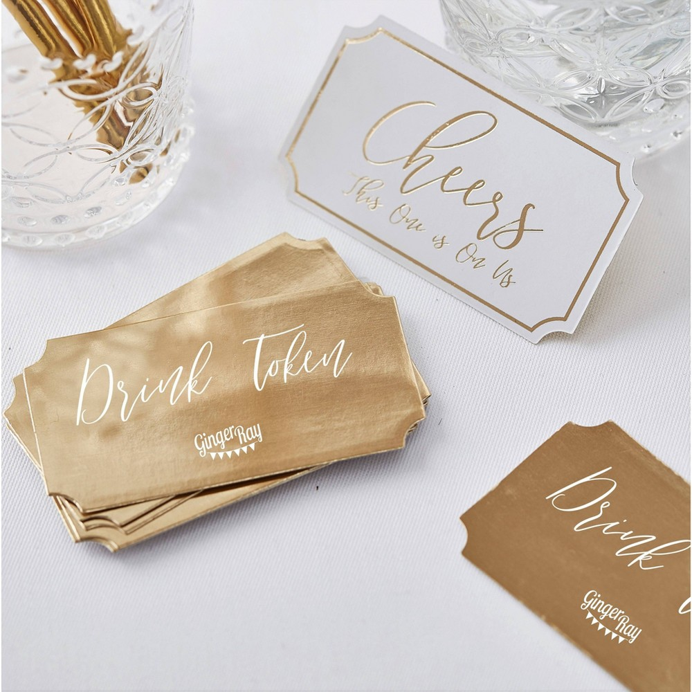Image of Drink Token Party Accessories