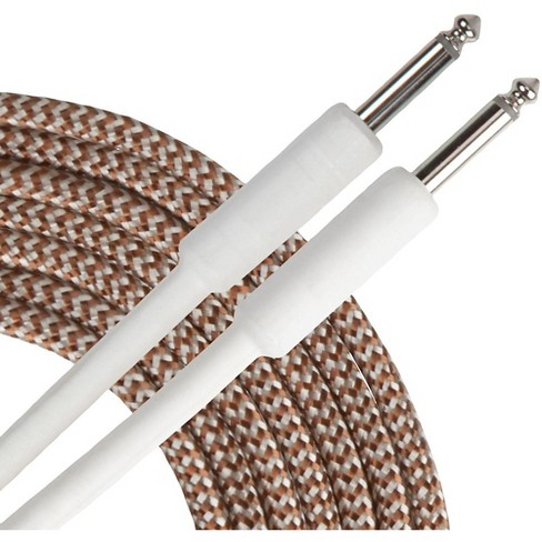 Livewire Advantage Tweed Instrument Cable 15 ft. Gold - image 1 of 2