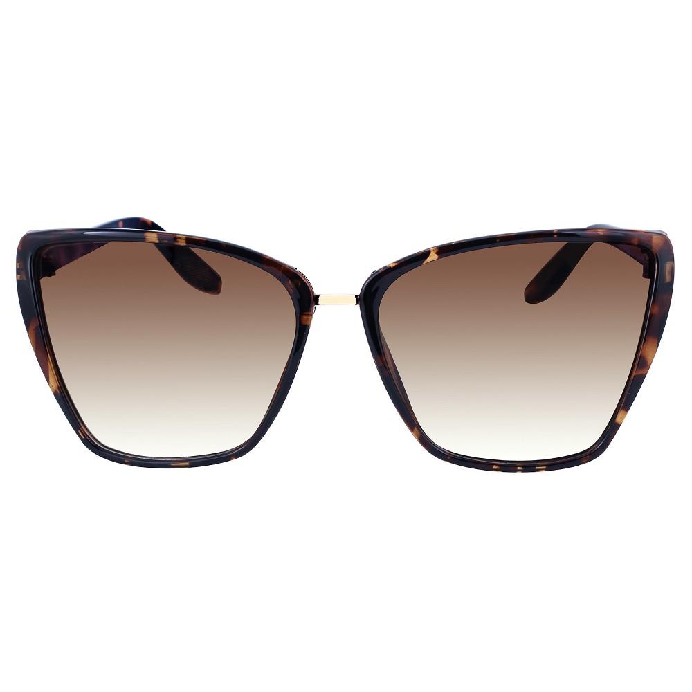Women's Plastic Cateye Sunglasses - Tortoise, Brown