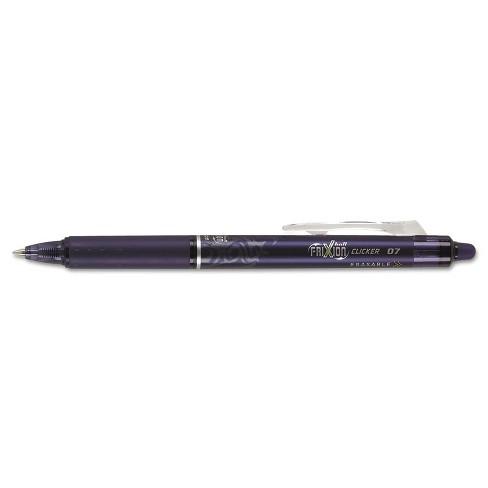 Pilot FriXion Clicker Erasable Gel Ink Retractable Pen Navy Ink .7mm 31457 - image 1 of 3