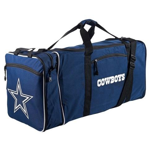 Nfl Dallas Cowboys 28 Steal Duffel Bag Navy
