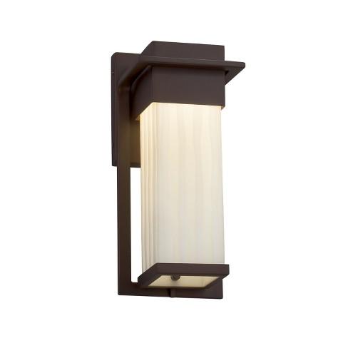 "Justice Design Group PNA-7541W-WFAL Porcelina Single Light 12"" High Integrated 3000K LED Outdoor Wall Sconce - image 1 of 1"