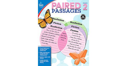 Paired Passages, Grade 2 (Workbook) (Paperback) - image 1 of 1