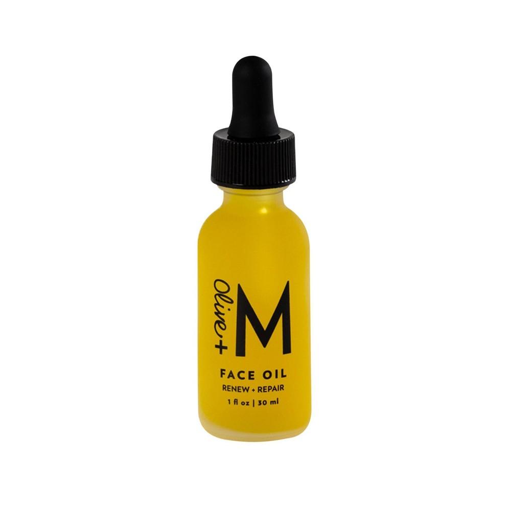 Image of Olive + M Renew + Repair Face Oil - 1 fl oz