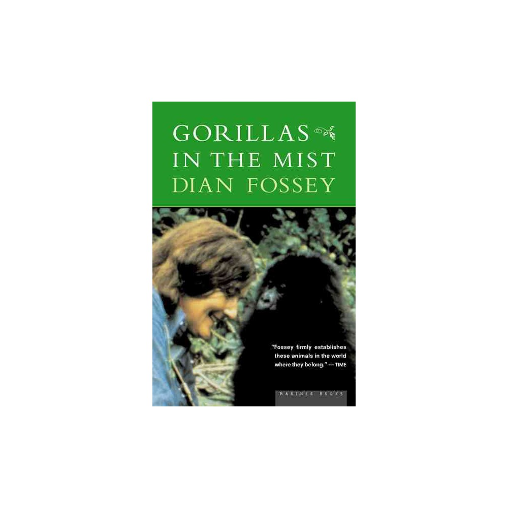 Gorillas in the Mist - by Dian Fossey (Paperback)