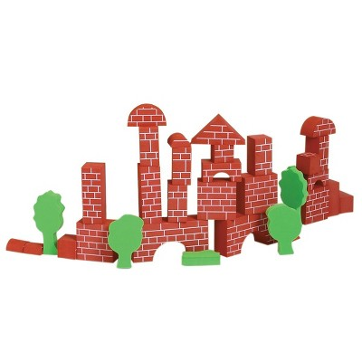 Edushape Soft Foam Brick Blocks - 36 Pcs