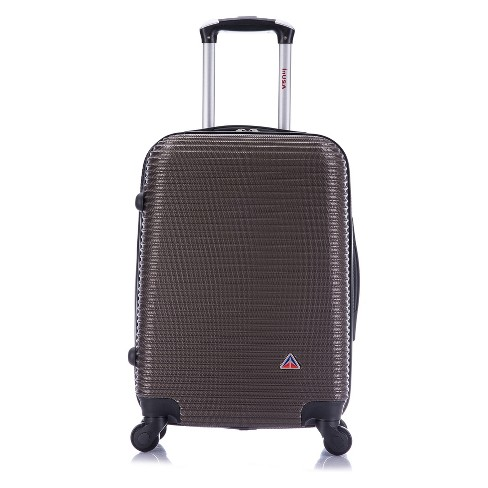 "InUSA Royal 20"" Hardside Spinner Carry On Suitcase - Brown - image 1 of 6"