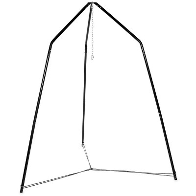 HearthSong Family HugglePod HangOut Stand for Hanging Chairs and Play Tents, Includes Hanging Hardware