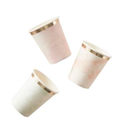 8oz 10pk Tie Dye Paper Cups