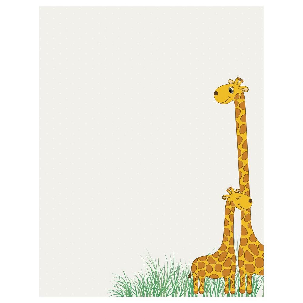 Baby Mama Giraffe Letterhead