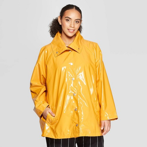 fefe867e24a Women s Plus Size Front Double Welt Pocket Button Detailed Anorak Jacket -  Who What Wear ™