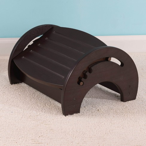 KidKraft Adjustable Wood Stool for Nursing w/ Anti Slip Pads - Espresso | 15153 - image 1 of 1