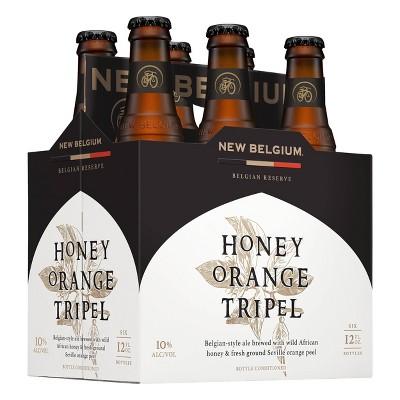 New Belgium Honey Orange Trippel Beer - 6pk/12 fl oz Bottles