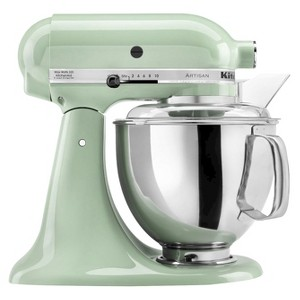 KitchenAid Artisan Series 5 Quart Tilt-Head Stand Mixer- Ksm150, Green Green