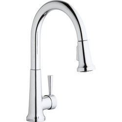 Elkay LK6000 Everyday 1.5/2.2 GPM Deck Mounted Pull Out Kitchen Faucet
