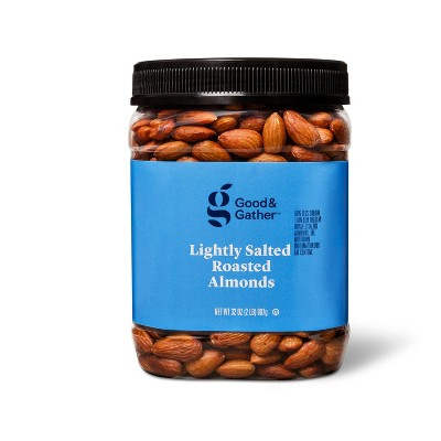 Lightly Salted Roasted Almonds - 32oz - Good & Gather™