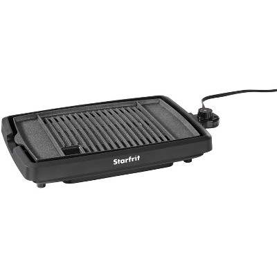 The Rock by Starfrit Smokeless Electric Indoor Grill - Black