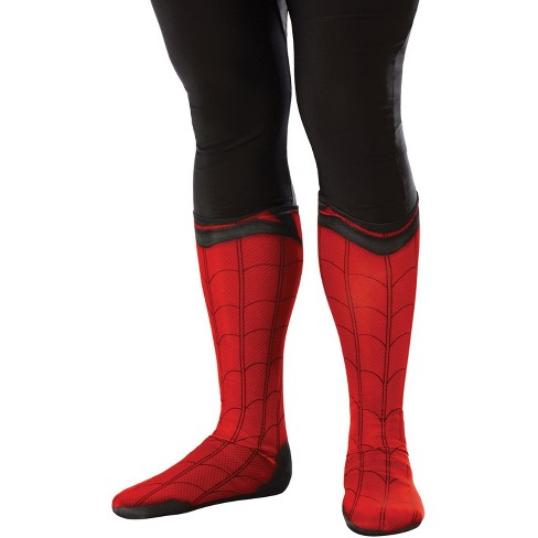 Marvel Far From Home Spider-Man Adult Boot Tops - image 1 of 1
