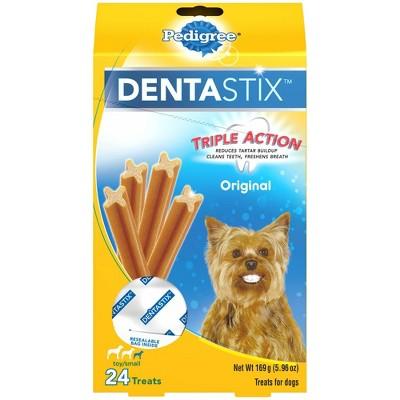 Pedigree Dentastix Original Toy Small Chicken Dental Dog Treats