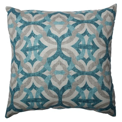 Gray Tipton Frost Throw Pillow (16.5x16.5 )16.5  x 16.5  - Pillow Perfect®