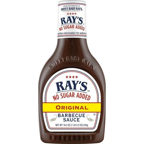 Ray's No Sugar Added Original BBQ Sauce - 18.5oz - image 1 of 4