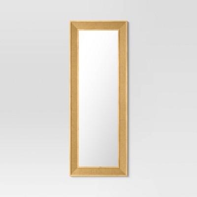 Classic Woven Wall Mirror Natural - Threshold™