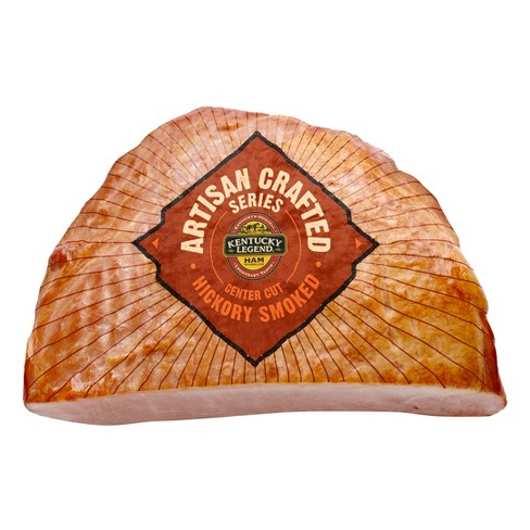 Kentucky Legend Artisan Crafted Center Cut Hickory Smoked Half Ham - 12-20lbs - priced per lb - image 1 of 1
