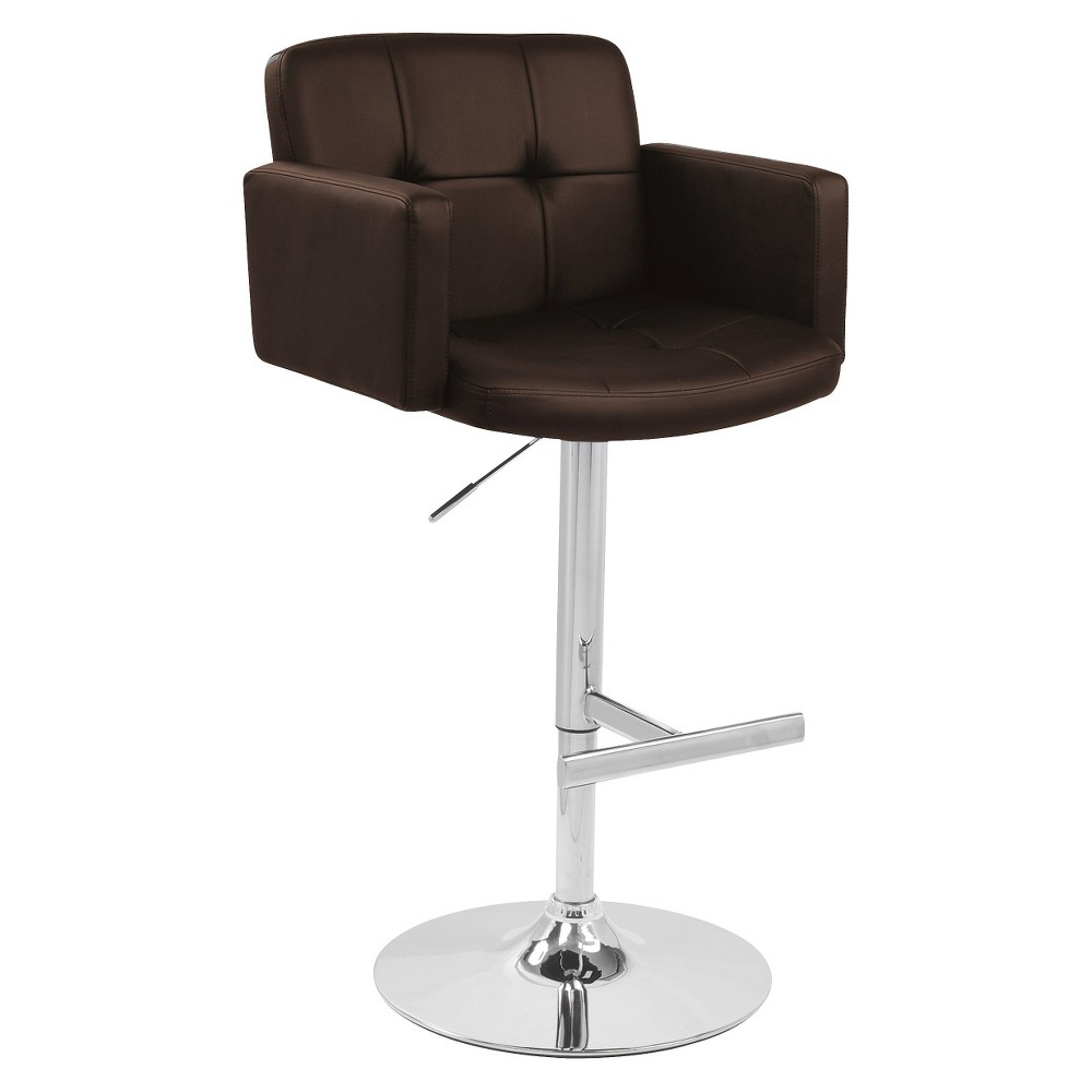 Lumisource Stout 32 Barstool - Brown