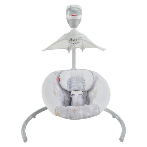 Fisher-Price Starlight Revolve Smart Connect Baby Swing - image 1 of 11