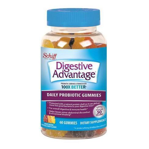 Digestive Advantage Probiotic Gummies - Fruit Flavors - image 1 of 3