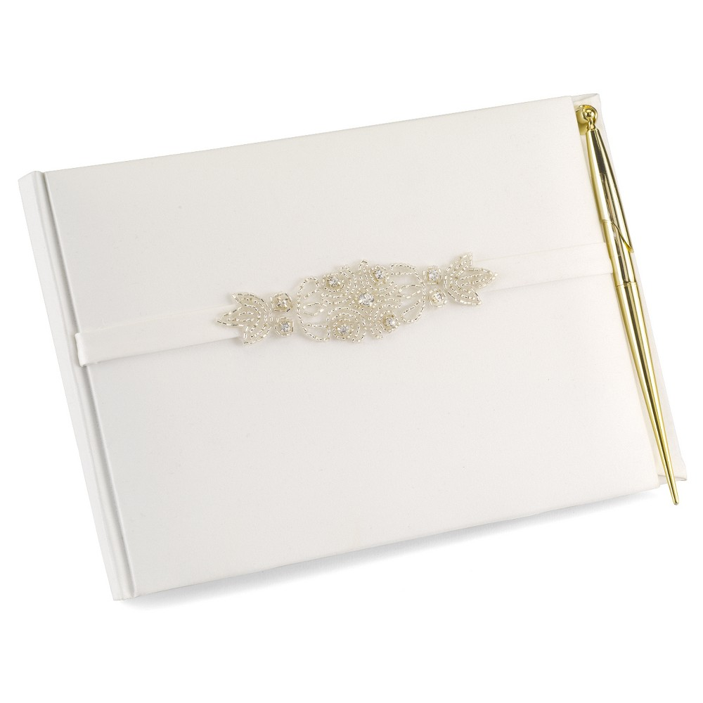 Classically Chic Guest Book with Pen