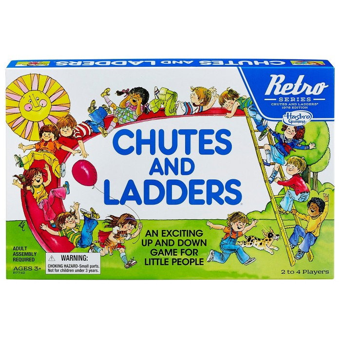 Chutes and Ladders Game: Retro Series 1978 Edition - image 1 of 3