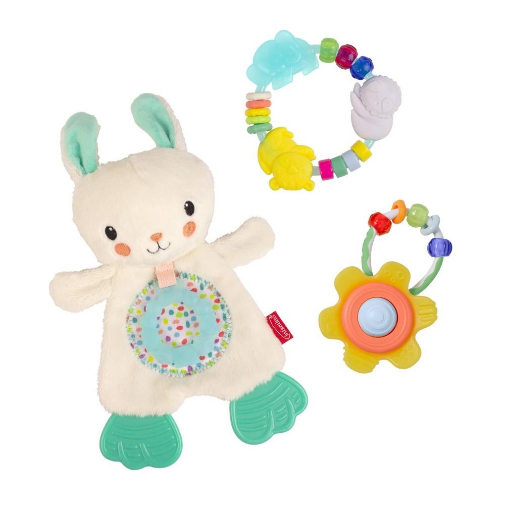 Image of Infantino Go gaga! Cuddle & Teethe Gift Set