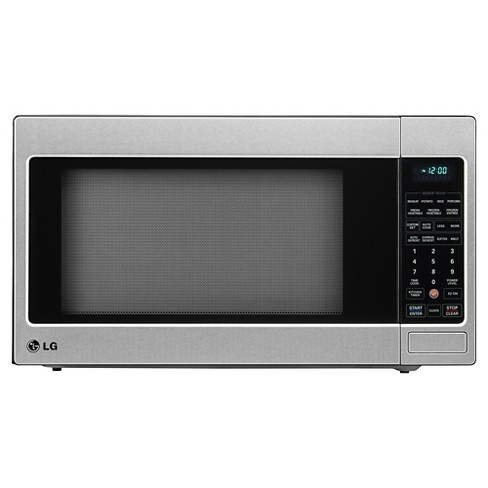 LG 2.0 Cu. Ft. 1200 Watt Microwave Oven - Stainless Steel LCRT2010ST - image 1 of 6