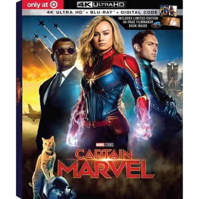 Captain Marvel - Target Exclusive (4K/UHD + Blu-Ray + Digital)
