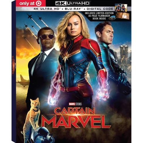 Captain Marvel - Target Exclusive (4K/UHD + Blu-Ray + Digital) - image 1 of 2