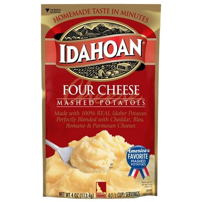 Idahoan Four Cheese Mashed Potatoes 4oz