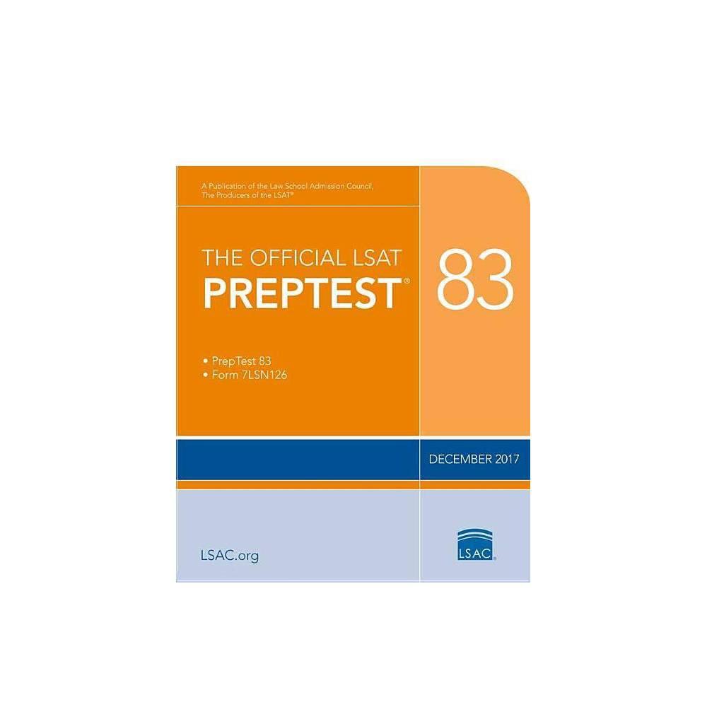 The Official LSAT Preptest 83 - (Official LSAT PrepTest)(Paperback)
