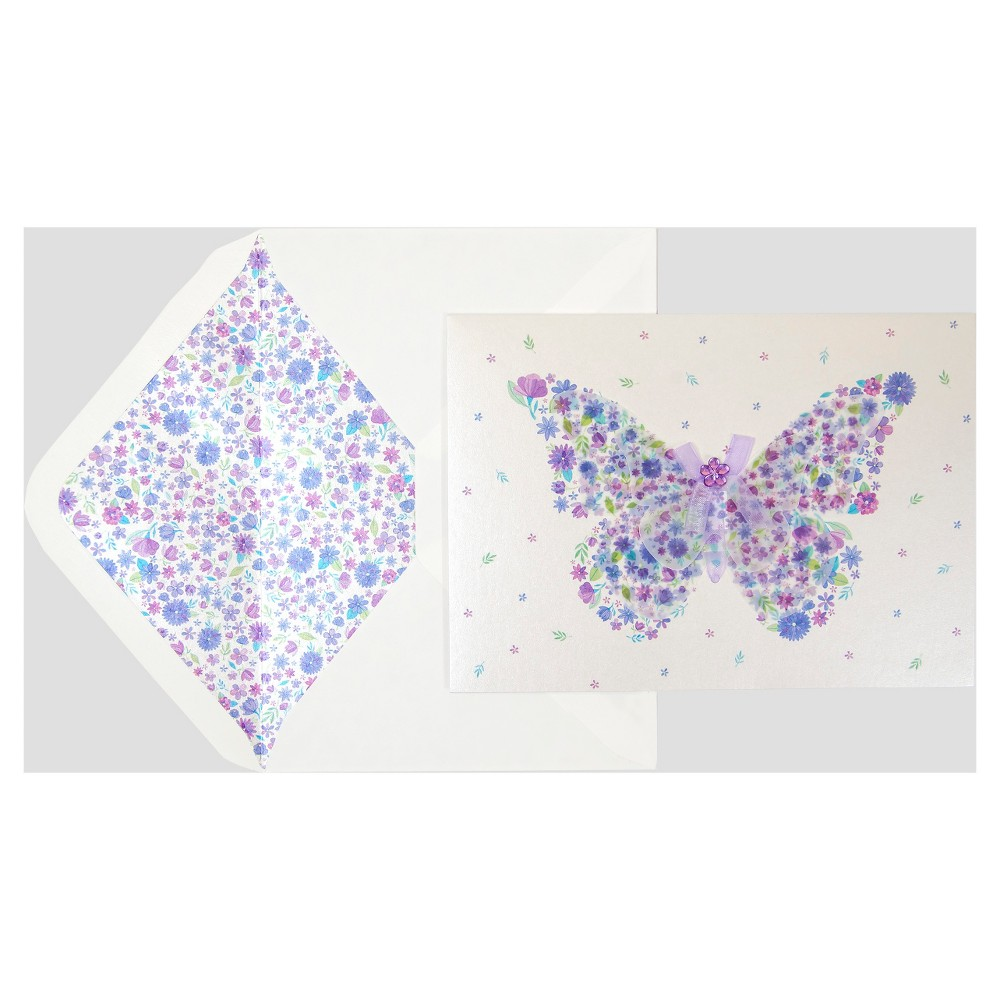 Papyrus Taylor Swift Floral Butterfly, Buff Beige