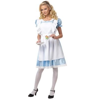 California Costumes Alice In Wonderland Adult Costume
