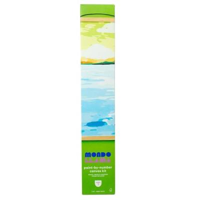 Paint-By-Number Canvas Kit Coastal Landscape - Mondo Llama™