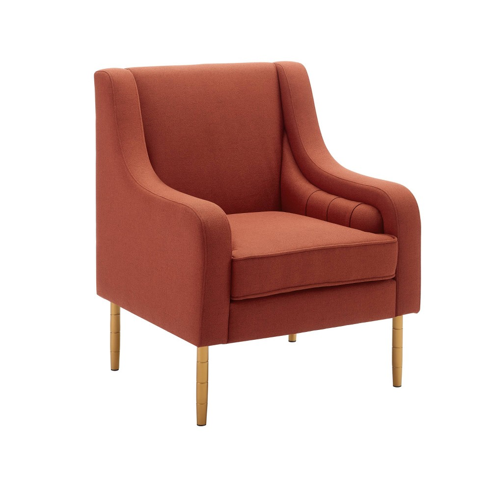 Nova Accent Chair Red - Linon Nova Accent Chair Red - Linon Gender: Unisex. Pattern: Solid.