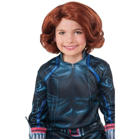 Rubies Avengers 2 Black Widow Costume Wig Child One Size Target
